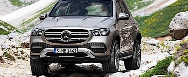 E-ACTIVE Body Control Makes the Mercedes-Benz GLE a Lowrider