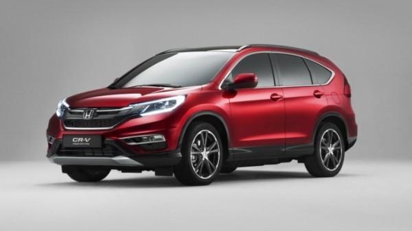 Euro Spec 2015 Honda Cr V Facelift Revealed With 160 Hp 1 6 Liter