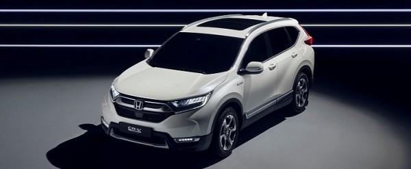 2018 Honda Pilot, CR-V And HR-V Could Get Hybrid Versions >> Euro Spec 2018 Honda Cr V Hybrid Concept Ditches Diesel