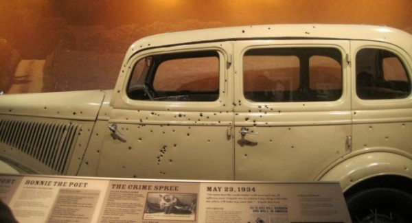 Visit Bonnie & Clyde's Getaway Ford V8 on the Anniversary of Their