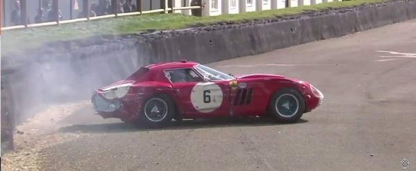 ferrari 250 gto crash at 2017 goodwood revival looks like. Black Bedroom Furniture Sets. Home Design Ideas