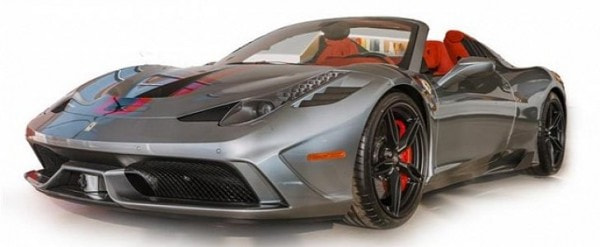 ferrari 458 speciale aperta shows up for sale at $813,000, has