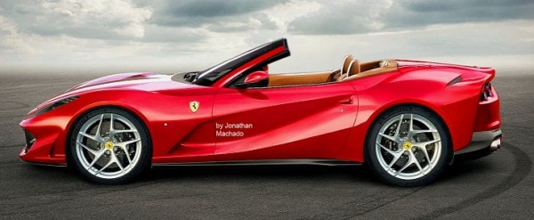 ferrari 812 spider rendered, probably won\u0027t happen autoevolution