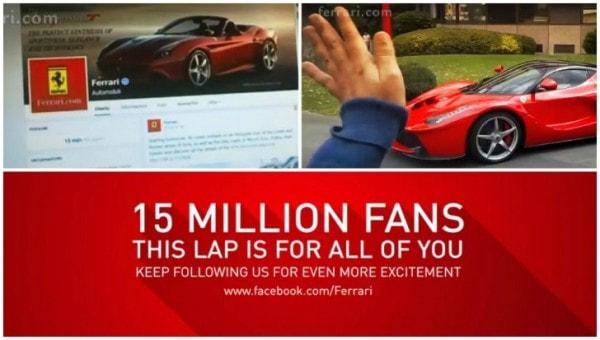 Ferrari Thanks Its 15 Million Fans with LaFerrari