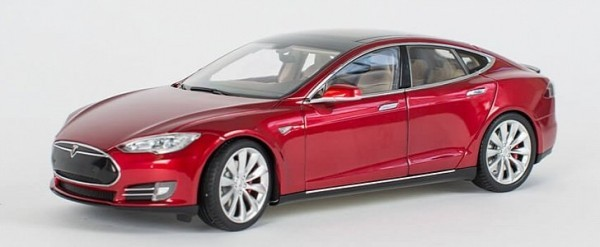 first day tesla model 3 reservation holders to get disappointing diecast model autoevolution. Black Bedroom Furniture Sets. Home Design Ideas