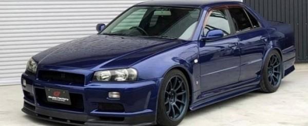 For Sale: 1999 Nissan Skyline GT-R R34 Sedan Looks Like OEM