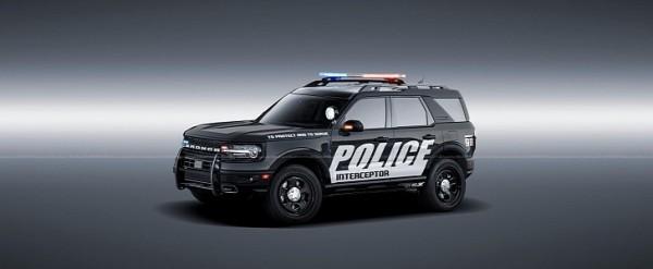 ford bronco police interceptor rendering extends long arm