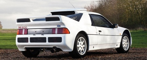 Ford Rs200 Evolution Heading To Amelia Island Auction Autoevolution