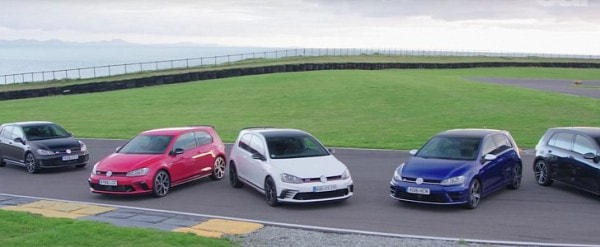 Golf Gti Gtd Gte R Edition 40 And Clubsport S Do Track Battle