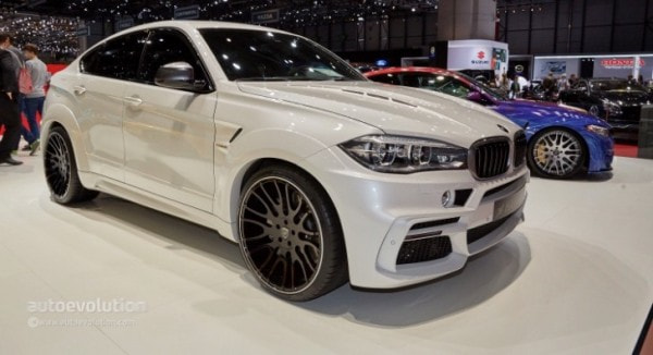 Hamann S Torque Monster X6 Has Three Tailpipes In Geneva