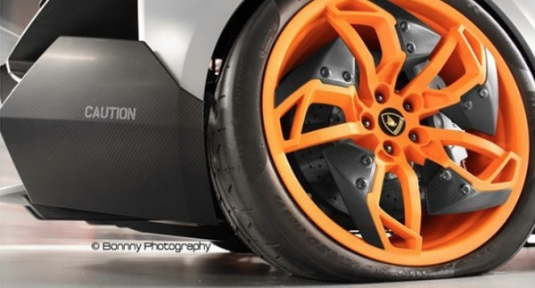 Here S A Concept Car With A Flat Tire Lamborghini Egoista