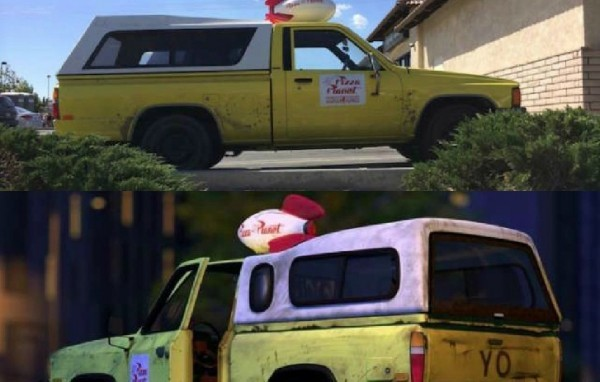 Heres The Story Behind The Real Life Pizza Planet Truck