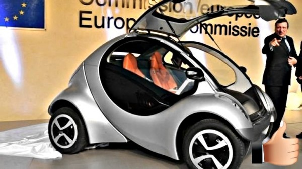 hiriko collapsible electric city car