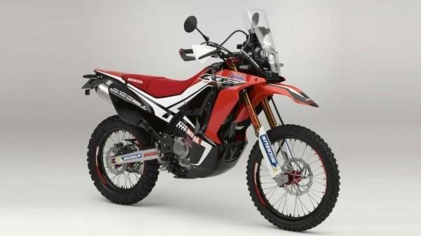 Honda Crf250 Rally Makes Appearance Looks Like A Dream Bike