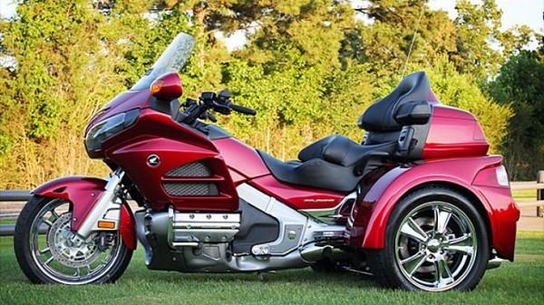 Honda Gold Wing Gl1800 Motor Trike Kit Available