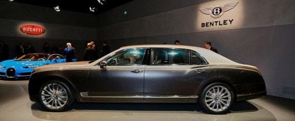 How Bentley Made The Mulsanne Ewb Long Wheelbase Look Almost