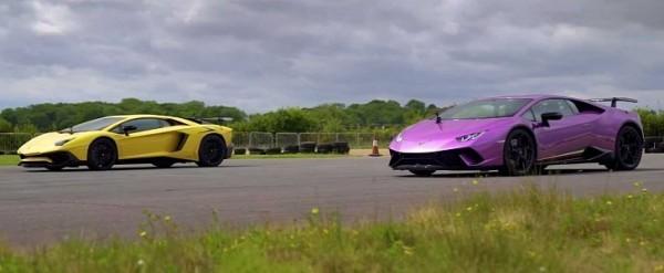 Huracan Performante Vs Aventador Sv Is An Epic Lamborghini