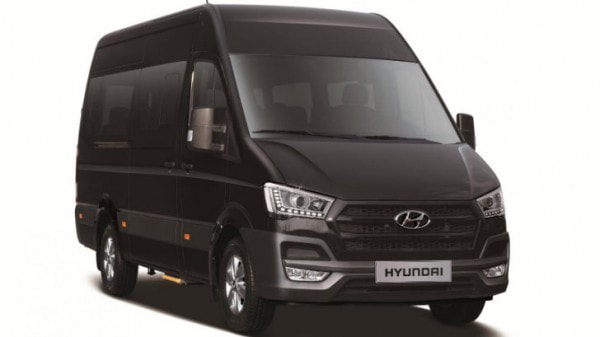 Hyundai H350 Is A Ford Transit Look Alike Made In Turkey