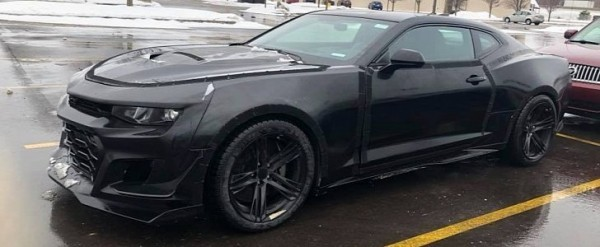 Is This The 2019 Chevrolet Camaro Z 28 Autoevolution