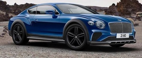 Jacked Up 2018 Bentley Continental Gt 4x4 Rendered As Suv Slayer Autoevolution