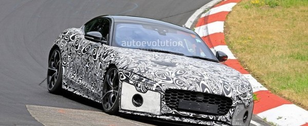 2019 Jaguar F Type Rumors Release Date Redesign >> Jaguar F Type Spied With Cool New Design Potential Engine