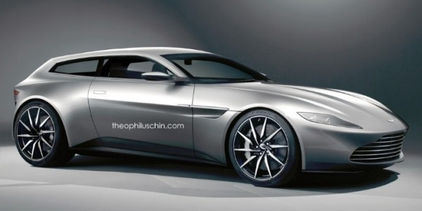 James Bond S Aston Martin Db10 Rendered As A Shooting Brake