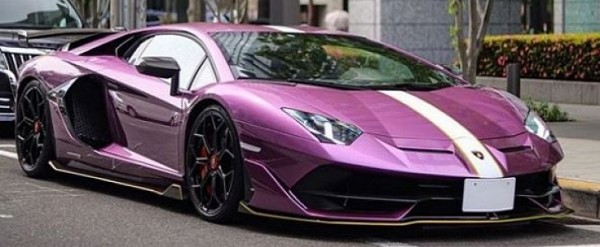 Japanese Lamborghini Aventador Svj Dresses Up Like A Diablo