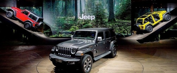 Jeep Had The Most Creative Booth At The Geneva Motor Show - Jeep car show near me