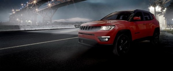 Jeep Uk Reveals Renegade Night Eagle Compass Night Eagle