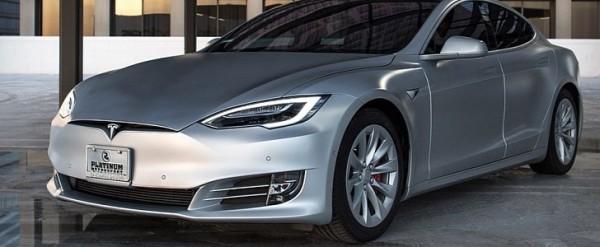 Tesla Model S Custom >> Kanye And Kim S Tesla Model S Gets Custom Pantone Matte