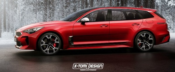 kia stinger sportswagon is nothing but wishful thinking. Black Bedroom Furniture Sets. Home Design Ideas