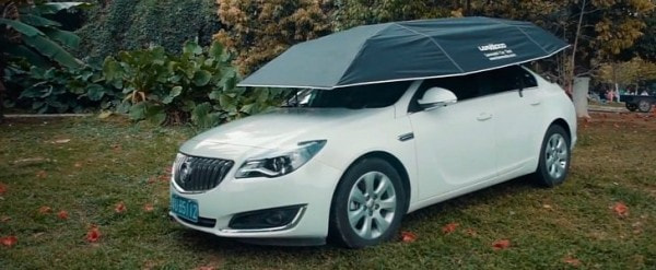 19 photos & Kickstarter Project Unveils Automatic Car Tent It Costs $292 ...