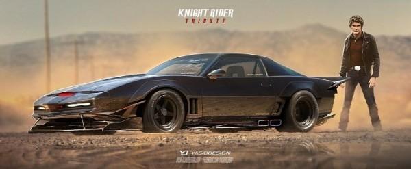 Knight Rider Kitt Car Gets A Futuristic Makeover With