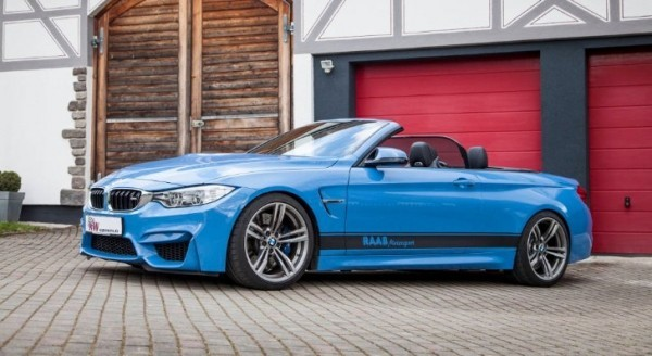KW Launches New Coilovers for the 2015 BMW M4 Convertible ...