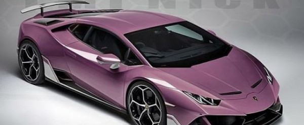 Lamborghini Huracan Evo Gets Sv Wing In Special Edition Rendering