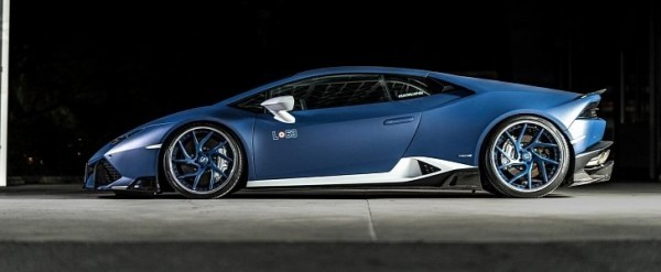 lamborghini huracan gets rowen treatment looks good in blue autoevolution. Black Bedroom Furniture Sets. Home Design Ideas