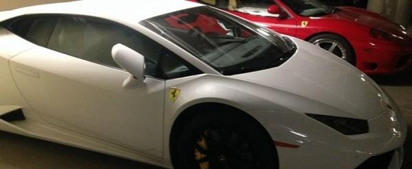 Lamborghini Huracan Owner Puts Ferrari Badge On His Car We Expect