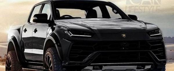 Lamborghini Urus Pickup Truck Rendered As Modern Day Lm002