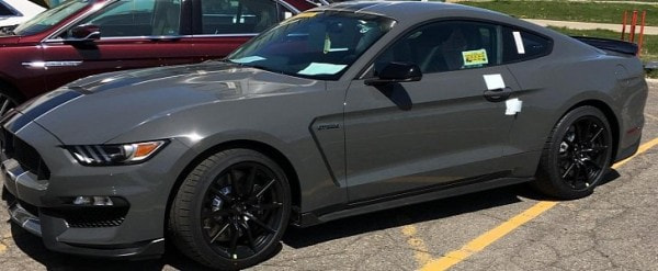 Lead Foot Gray Looks Smashing On 2018 Shelby GT350 Mustang ...