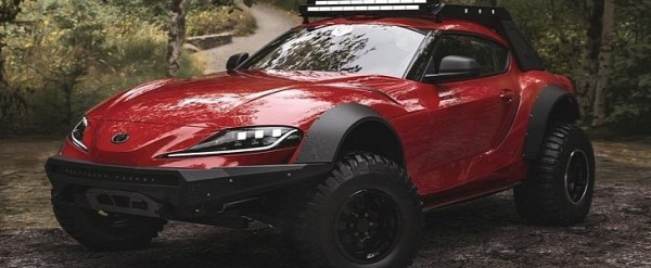 2020 Toyota Supra Lifted