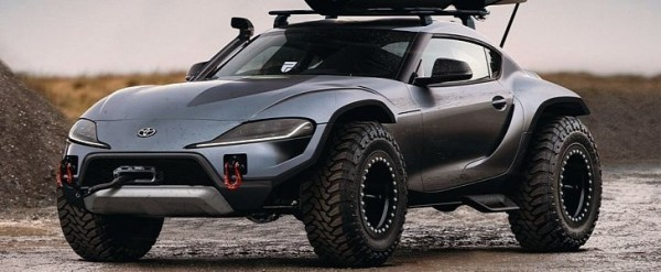 Build A Toyota >> Lifted 2020 Toyota Supra Rendered As The Sportscar Toyota