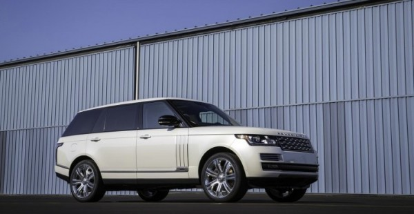 Range Rover Long Wheelbase >> Long Wheelbase Autobiography Black Range Rover Bows In La