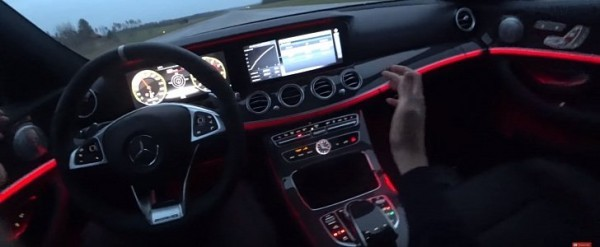 200 Kph To Mph >> Mercedes Amg E 63 S Wagon Does Hands Free 0 200 Kph 0 124