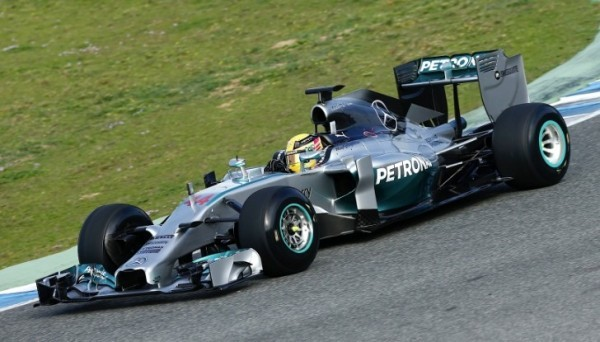Mercedes Amg Petronas Completes Second Day Of Testing At Jerez Images, Photos, Reviews