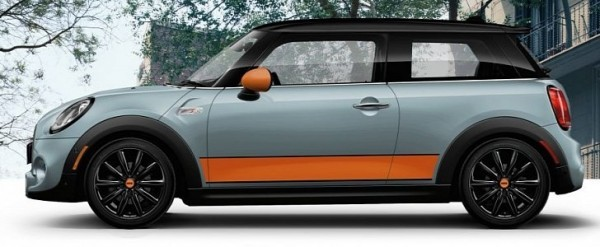 Ice Blue Mini Cooper >> Mini Cooper S Hardtop Shows Up At Sema As Ice Blue Special