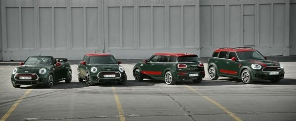 Mini Releases Video With All John Cooper Works Models
