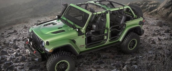 Mopar Customized 2018 Jeep Wrangler Pair Steals The Show In Los