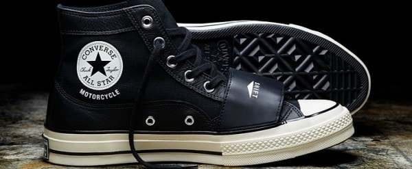 Motorcycle Inspired New Neighborhood X Converse All Stars