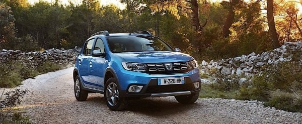 next dacia sandero coming in 2019 with new platform autoevolution. Black Bedroom Furniture Sets. Home Design Ideas