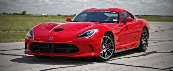 New Dodge Viper Gets 1 120 Hp Twin Turbo Hennessey Upgrade As Venom
